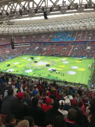 موسكو .. لوجنيكي ، لقطة من حفل إفتتاح بطولة كأس العالم روسيا 2018